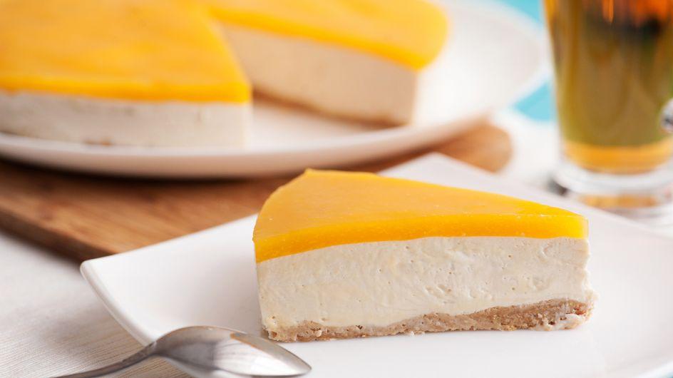 Sommerliche Pfirsich-Maracuja-Torte: Geniales Rezept ohne Backen