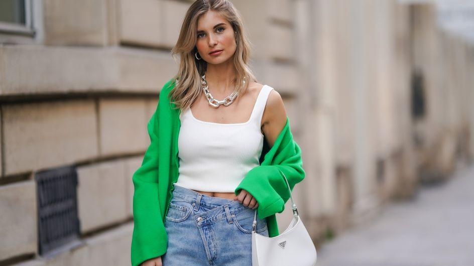 Criss-Cross denim : cette nouvelle tendance jeans va cartonner à la rentrée des classes