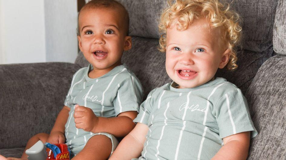 Cette mère a donné naissance à des jumeaux de couleur de peau différente