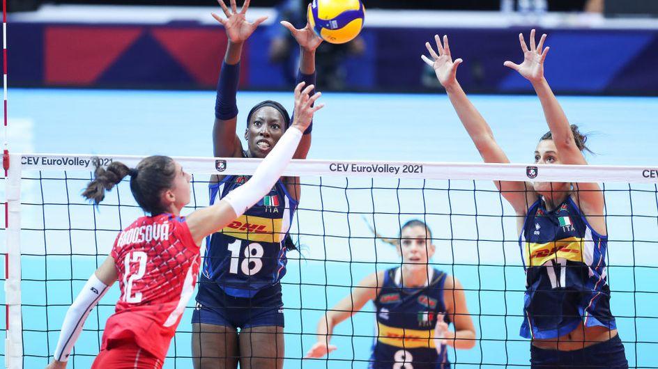 La vittoria-rivincita della nazionale italiana di pallavolo femminile agli Europei