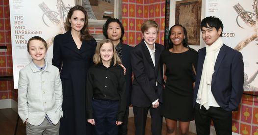 Angelina Jolie a eu peur pour ses enfants, avec Brad Pitt