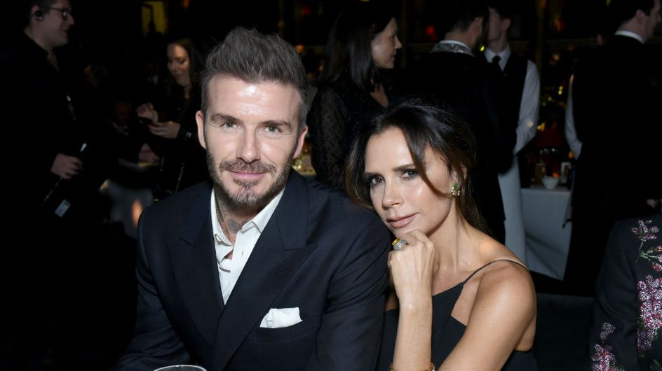 Victoria Beckham dévoile une photo très sexy de des fesses de son mari David Beckham