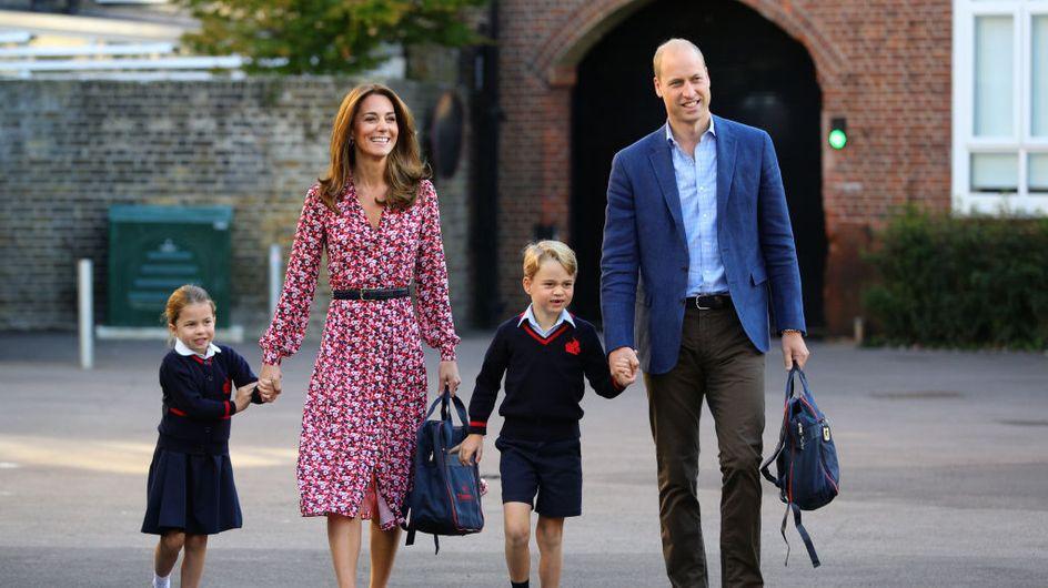 Prince George et Princesse Charlotte : une rentrée scolaire très discrète