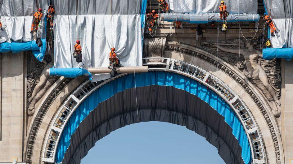 Arc de Triomphe empaqueté: quel coût écologique de l'œuvre de Christo ?