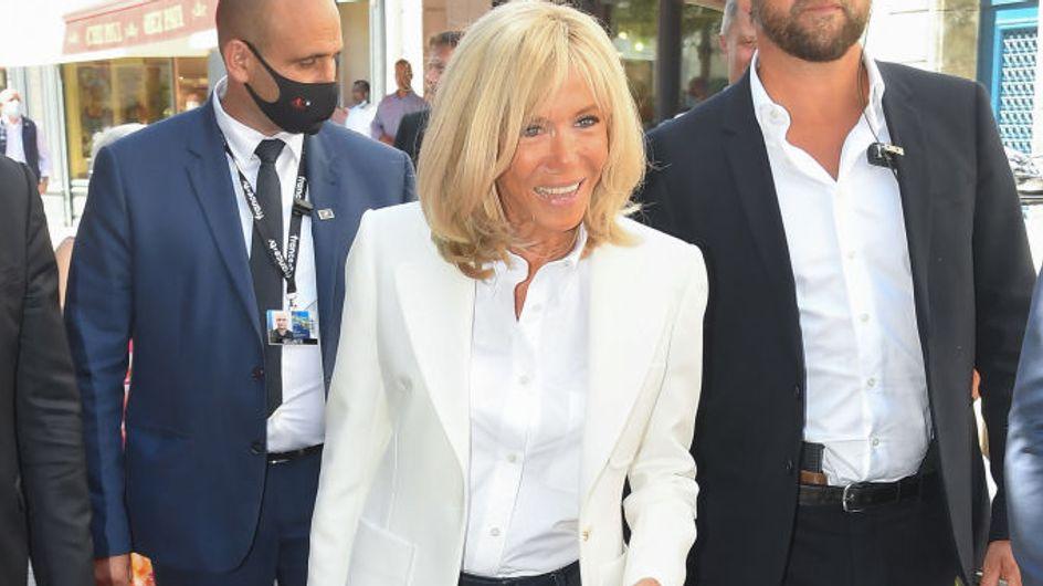 Brigitte Macron : moins de 130€ pour ces baskets qu'elle ne quitte plus