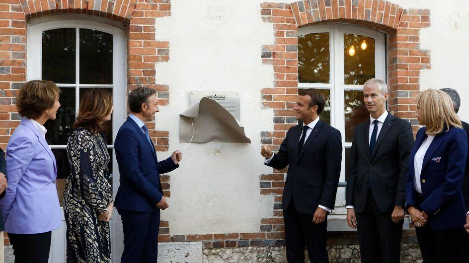 Stéphane Bern, Patrick Sébastien, Michel Drucker, Emmanuel Macron très proche des stars de la télévision