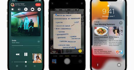 Apple iOS 15 : tout ce qui change dans votre iPhone lors de la prochaine mise à jour