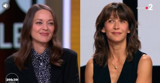 """""""Ce n'est pas parce qu'on est actrices qu'on est potes"""", Sophie Marceau se confie sur sa relation avec Marion Cotillard"""