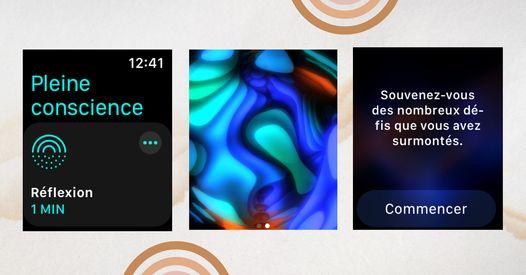 Pleine conscience : la nouvelle application d'Apple pour être plus zen