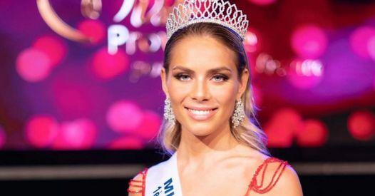 April Benayoum remplace Amandine Petit au concours Miss Monde