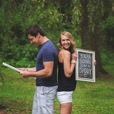 30 formas muy creativas de anunciar al mundo que estás embarazada
