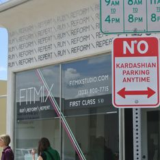 Des panneaux interdisent aux Kardashian de stationner dans les rues de Los Angeles