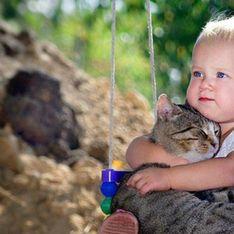 Ces photos qui prouvent que votre enfant doit ABSOLUMENT vivre avec un chat ou un chien