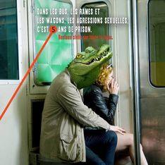 Une association parodie la RATP pour dénoncer le harcèlement dans les transports
