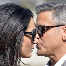George Clooney reçoit la visite surprise d'Amal en plein tournage ! (Photos)