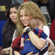Shakira emmène son fils Sasha supporter Gerard Piqué (Photos)