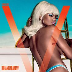 Rihanna, seins nus et blonde pour V Magazine (Photos)