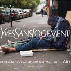 Cette association dénonce la situation des sans-abris en détournant des marques de luxe