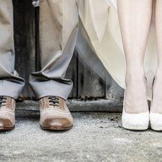 Les tongs, nouvelles chaussures tendances pour le mariage ?