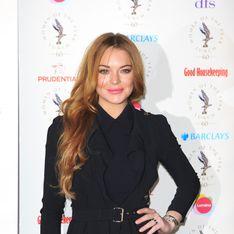 Lindsay Lohan, de retour dans le monde de la mode (Photos)