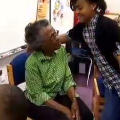 A 97 ans, elle réalise son rêve d'enfant et part en voyage scolaire pour la première fois