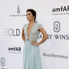 Eva Longoria, Adriana Lima, Irina Shayk... toutes en décolleté sexy au gala de l'amfAR