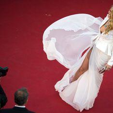 Cannes : Quand les stars dévoilent leurs gambettes sur la Croisette (Photos)
