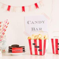 DIY Candy Bar für die Gäste: So wird eure Hochzeit zuckersüß!