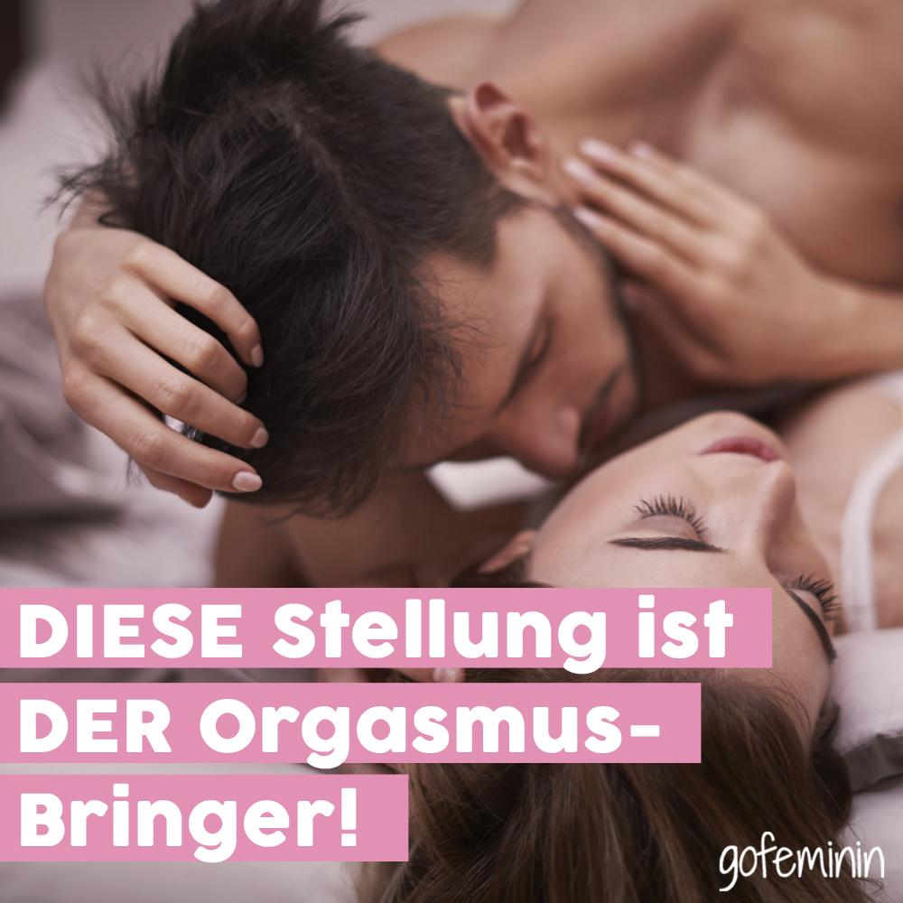 Beste Position für weiblichen Orgasmus