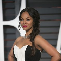 Zoe Saldana assume son corps post-grossesse