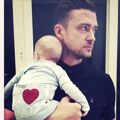 David Beckham, Justin Timberlake, Ryan Reynolds… La fête des pères des stars sur Instagram (Photos)