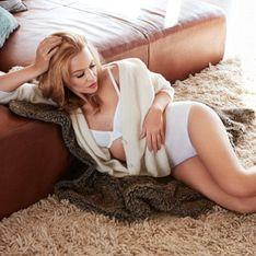 Kylie Minogue, 47 ans et toujours aussi sexy pour Sloggi (Photos)