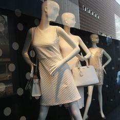 New Look au milieu d'une polémique à cause d'un mannequin trop maigre en vitrine
