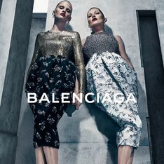Kate Moss et Lara Stone, méconnaissables pour Balenciaga