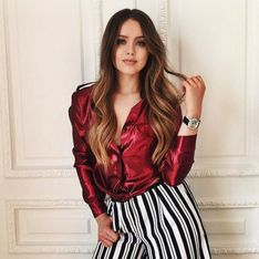 Kristina Bazan, favorite de la Fashion Week