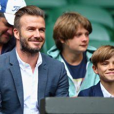Romeo Beckham, sosie de son père à Wimbledon