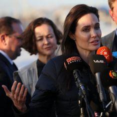 La femme de la semaine : Angelina Jolie, elle continue de s'engager pour les réfugiés (Vidéo)