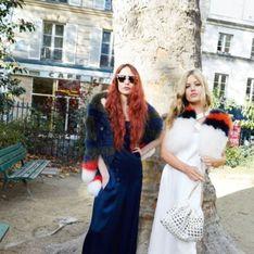 Georgia et Lizzy Jagger, égéries nature pour Sonia Rykiel