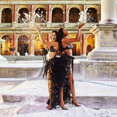 Les dessous du nouveau photoshoot Victoria's Secret à Rome (Photos)