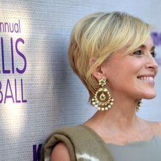L'improbable tenue de Sharon Stone au gala de charité Hotbed (Photos)