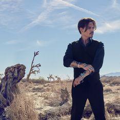 Johnny Depp dans la peau de l'homme Sauvage de Dior (Vidéo)