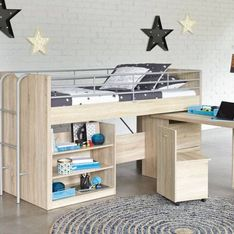 Las mejores ideas deco para habitaciones infantiles con literas