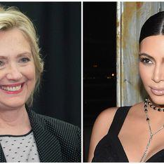 Hillary Clinton sur sa rencontre avec Kim Kardashian : Elle avait une très charmante façon de présenter son mari