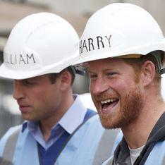 Les princes William et Harry deviennent maçons pour SOS Bricolage (Photos)