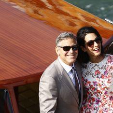 Amal et George Clooney fêtent leur 1 an de mariage