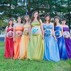 Bebés arco iris, una luz de esperanza para las mamás que han sufrido abortos