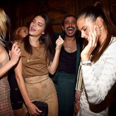 Kendall Jenner, Jada Pinkett Smith, Kris Jenner... Les people s'éclatent à la soirée Balmain (Photos)