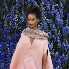 Rihanna rayonnante pour le défilé Dior