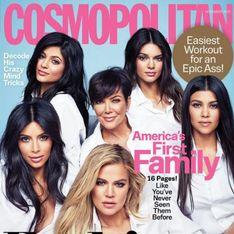 Les Kardashian, toutes réunies en couverture de Cosmopolitan US