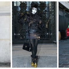 Street style : les looks les plus dingues de la Fashion Week (Photos)